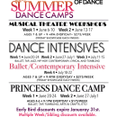 2016 Summer Dance Camps
