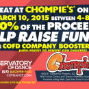 Chompies •Help Raise Funds for COFD Company Booster Club