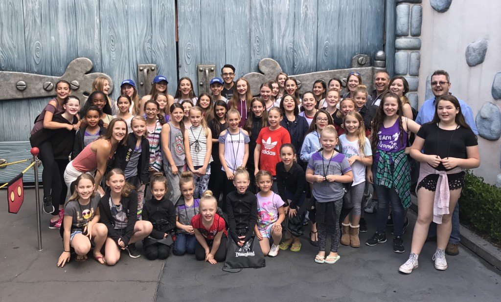 COFD Company performed at Disneyland on April 8, 2017! Congrats to all Company Members and their Families!!!
